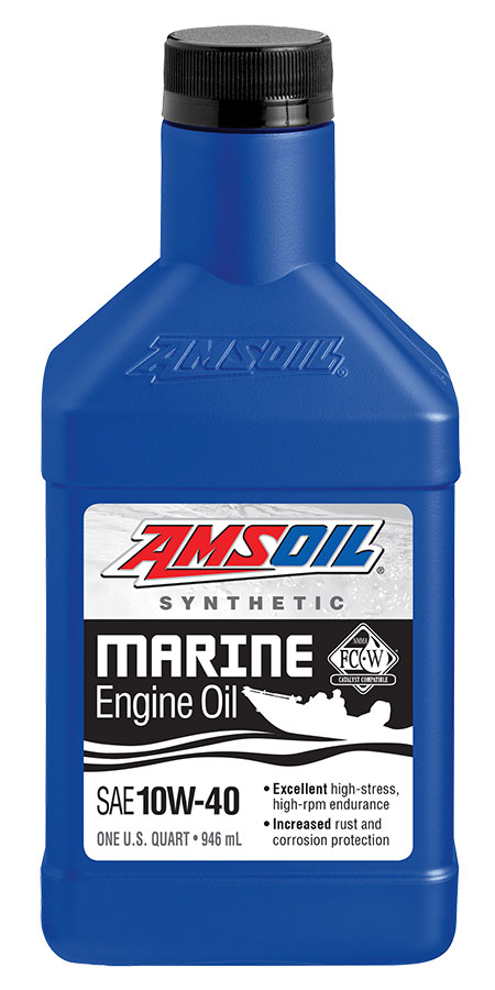 10W-40 Synthetic Formula 4-Stroke Marine Oil