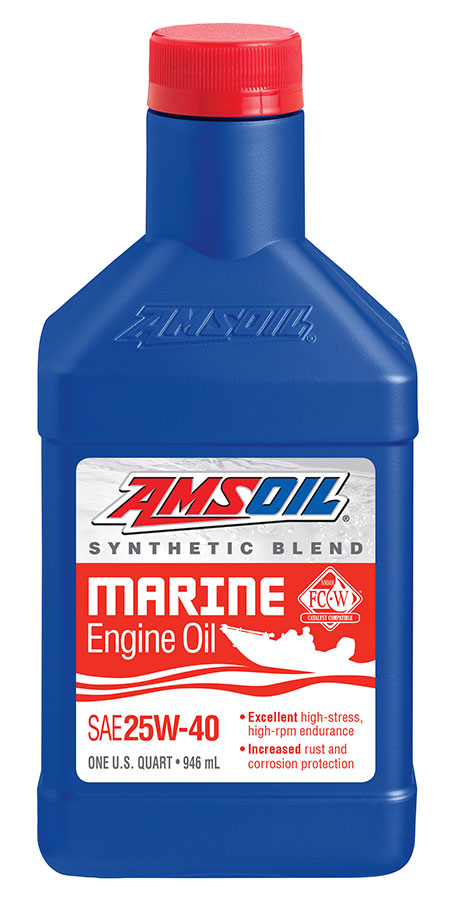 25W-40 Marine Synthetic Motor Oil