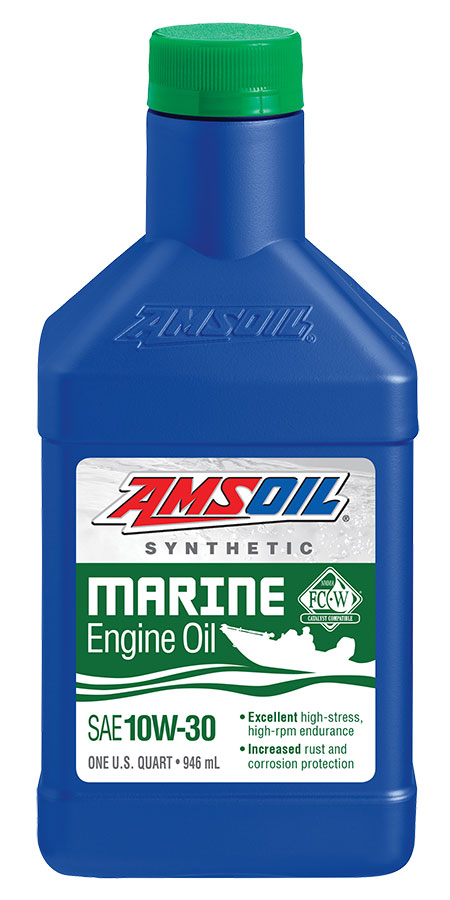 10W-30 Synthetic Formula 4-Stroke Marine Oil