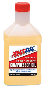 Synthetic Compressor Oil - ISO 100, SAE 30/40