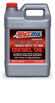 Synthetic SAE 10W-30/SAE 30 Heavy-Duty Motor Oil