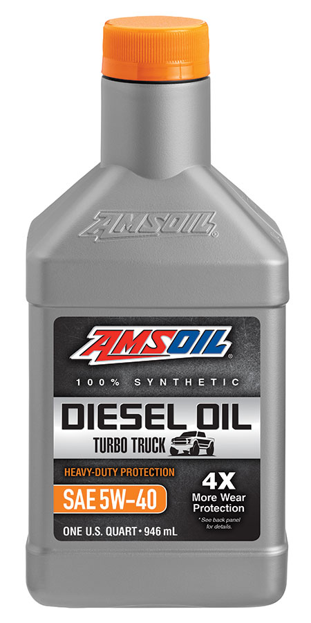 Heavy Duty Synthetic 5W-40 Diesel Oil