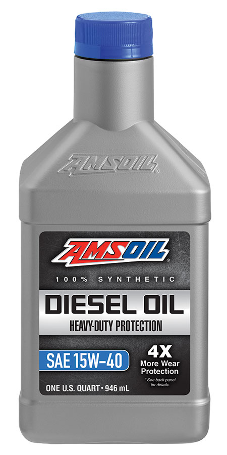 Heavy Duty Synthetic 15W-40 Diesel Oil