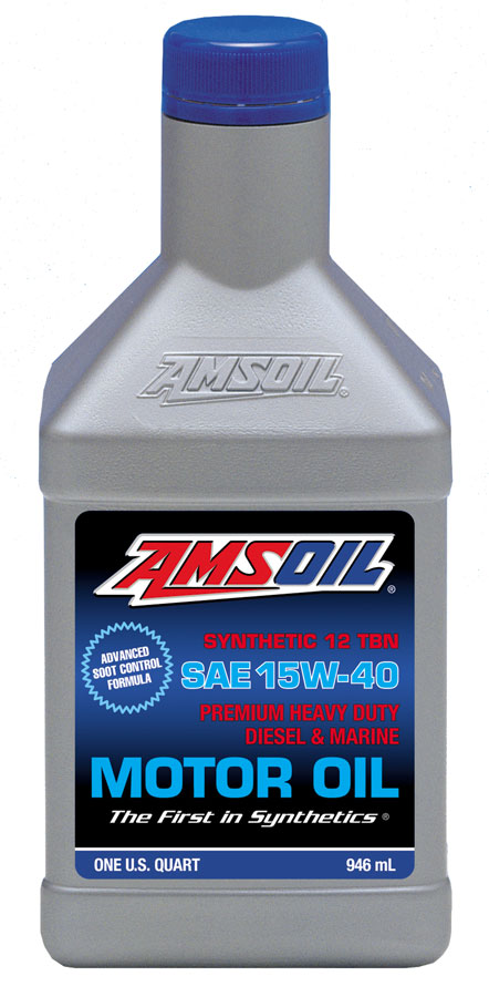 SAE 15W-40 Heavy-Duty Diesel and Marine Motor Oil