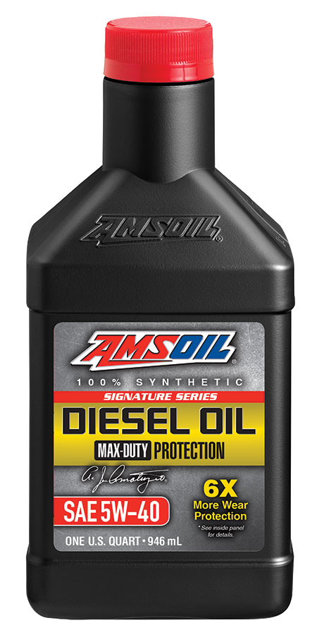 5W-40 Diesel Oil Signature Series Max Duty Synthetic