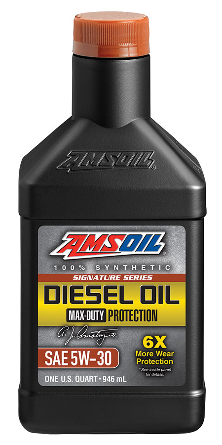 5W-30 Diesel Oil Signature Series Max Duty Synthetic