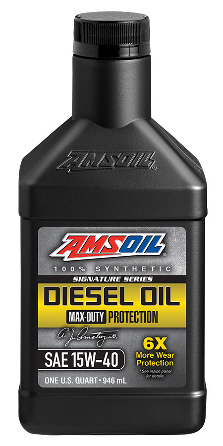 15W-40 Diesel Oil Signature Series Max Duty Synthetic