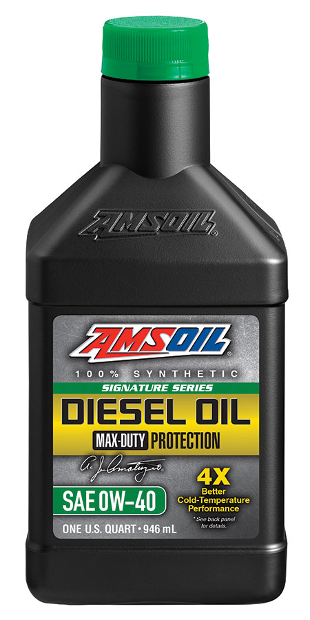 0W-40 Diesel Oil Signature Series Max Duty Synthetic