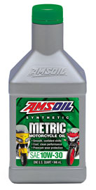 10W-30 Synthetic Metric Motorcycle Oil