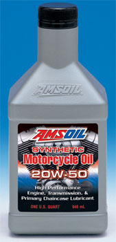 20W-50 Advanced Synthetic Motorcycle Oil
