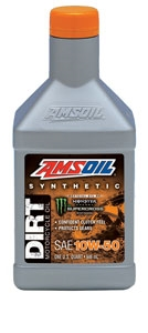 Synthetic SAE 10W-50 Dirt Bike Oil