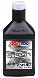 SAE 5W-50 Signature Series 100% Synthetic Motor Oil