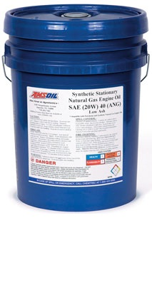Synthetic Stationary Natural Gas Motor Oil