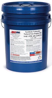 Synthetic Vehicular Natural Gas Motor Oil SAE 15W-40