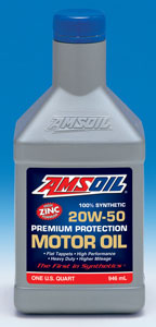 SAE 20W-50 Synthetic Premium Protection Motor Oil