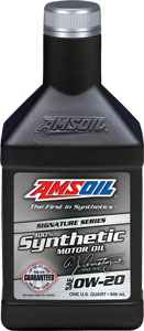 SAE 0W-20 Signature Series 100% Synthetic Motor Oil