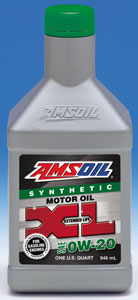 SAE 0W-20 XL Extended Life Synthetic Motor Oil
