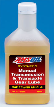 Manual Transmission and Transaxle Gear Lube 75W-90